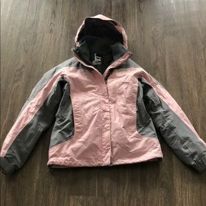 North Face  jacket and fleece shell